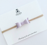 Mini Bows and Blooms Set - Purple