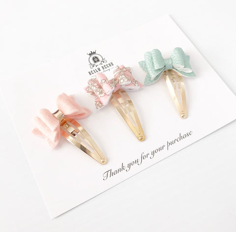 Mini Bow Trio Set - Liberty Capel