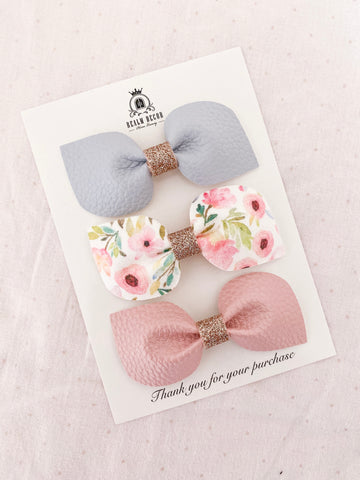 Pretty Essentials Bow Trio Set