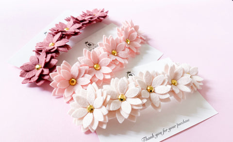 Miss Daisy Flower Headband