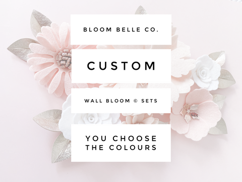 Custom - Wall Bloom © Set
