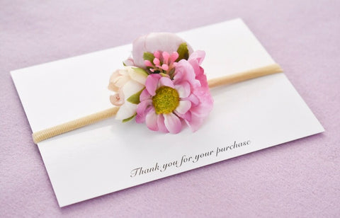 Dear Daisy Purple Hair Bloom Headband
