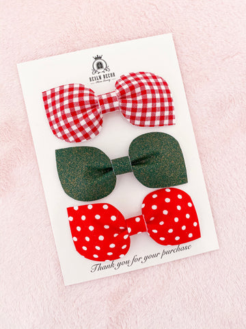 Festive Fun Bow Trio Set