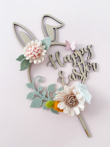 Happy Easter - Cake Topper