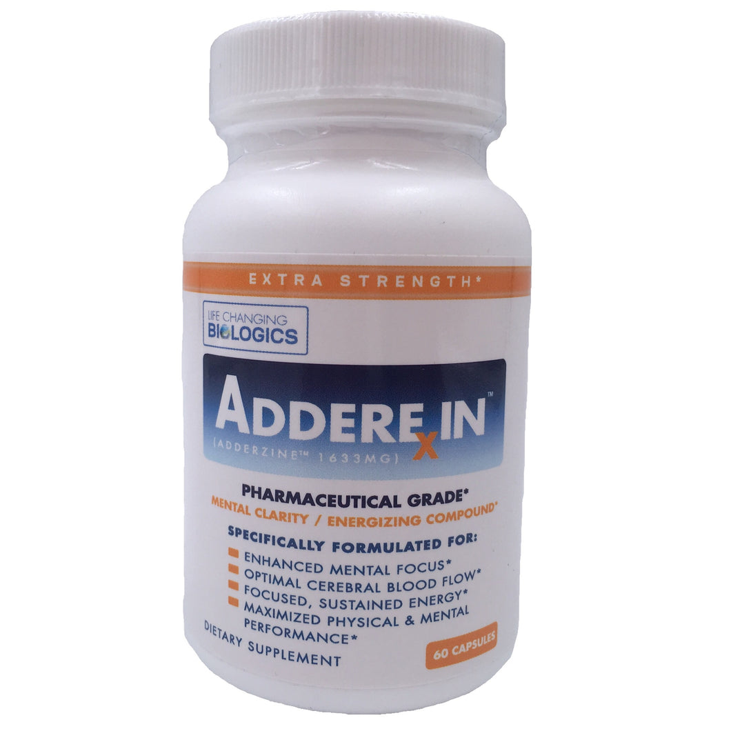 Adderexin is an all natural alternative to adderall. It increases focus and mental energy as well as improves your mental clarity.