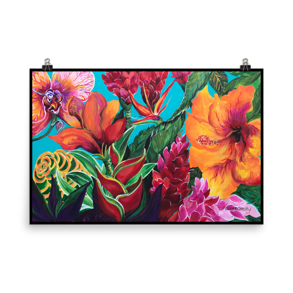 "Lively 24""x36"" Poster Print"