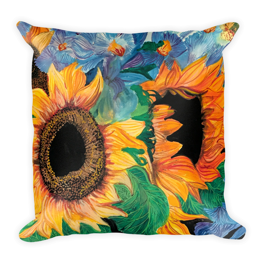 Girasoles Pillow