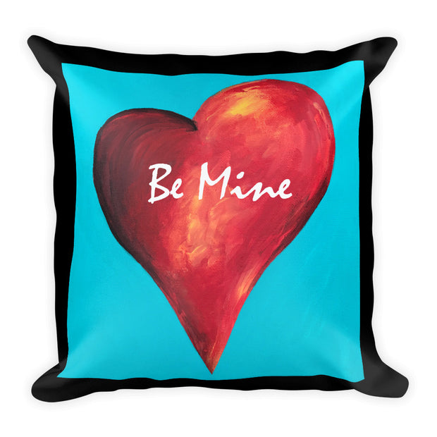 Be Mine Square Pillow
