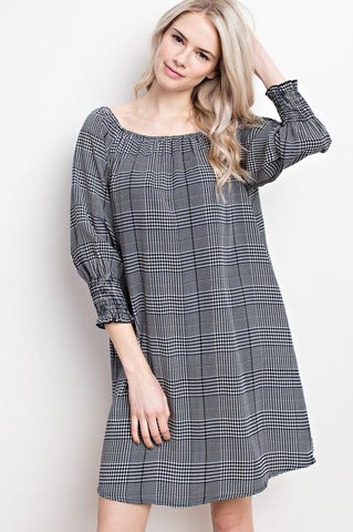 Asymmetrical Midi Dress