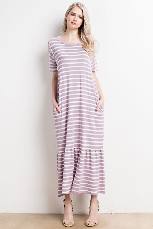 Aynara Fashion Pocketed maxi dress