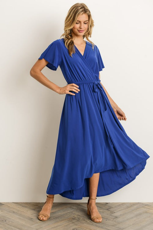 Aynara Fashion Faux Wrap Dress