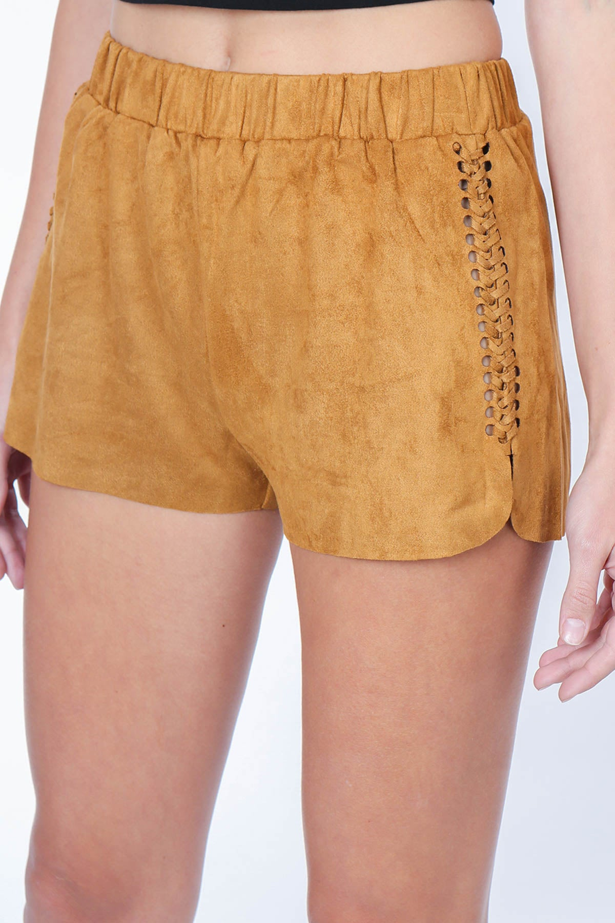 Aynara Fashion Brielle Suede Short
