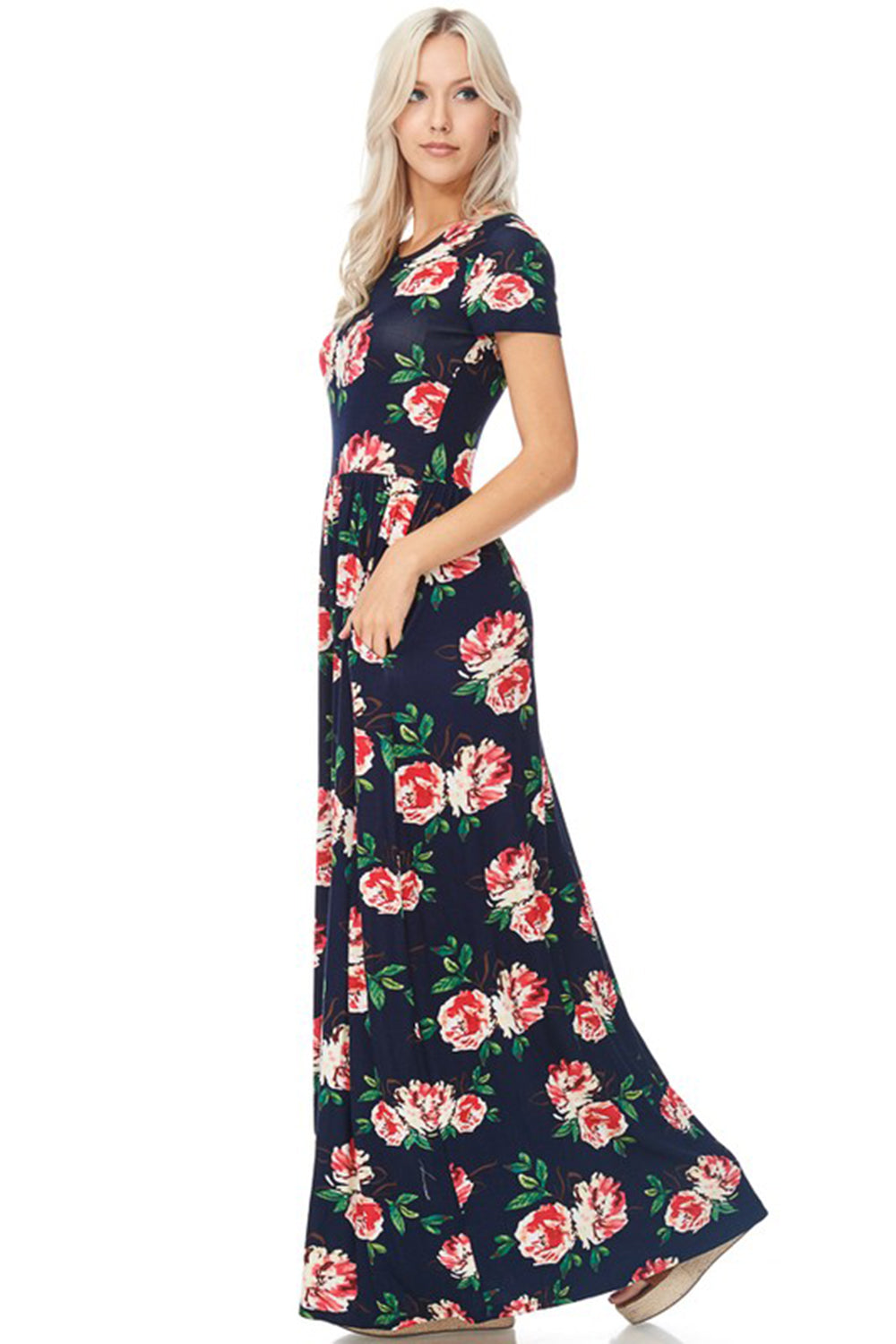 96d3a02dd8ec Floral Print Maxi Dress – Aynara Fashion