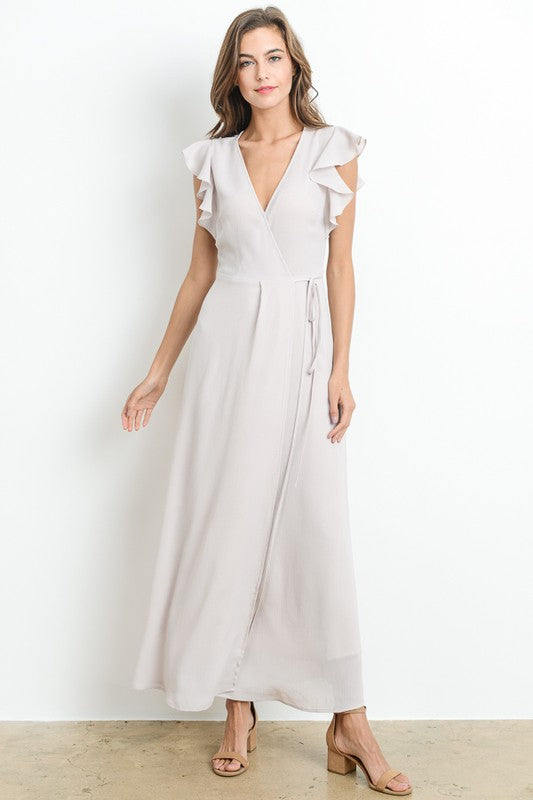 Aynara Fashion Elegant Chiffon Maxi Dress