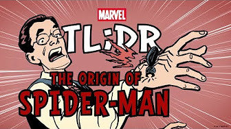 The Origin of Spider-Man in 2 Minutes