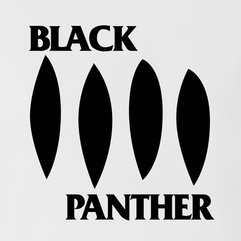 Black Panther - Men's Tee Shirt - Marvel Parody Black Flag Graphic T-Shirt