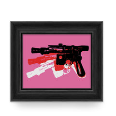 Blaster - Art Print - Warhol Star Was Parody Wall Art and Canvas Print