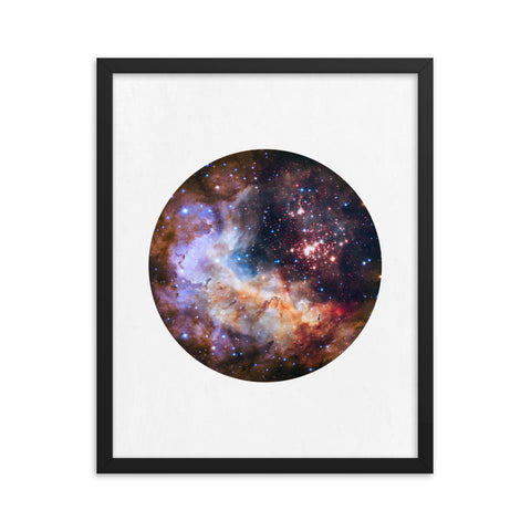 Celestial Fireworks - Art Print - NASA Hubble Space Wall Art and Canvas Print