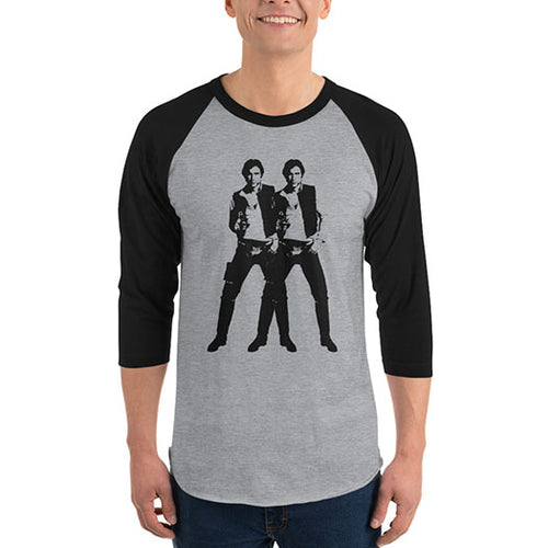 Double Solo - Men's Raglan Shirt