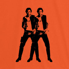 Double Solo - Men's Tee Shirt - Warhol Star Wars Parody Graphic T-Shirt