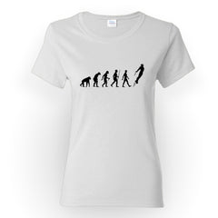 The Evolution of Iron Man - Women's Tee Shirt