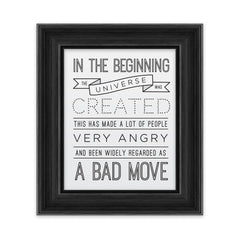 In the Beginning - Art Print