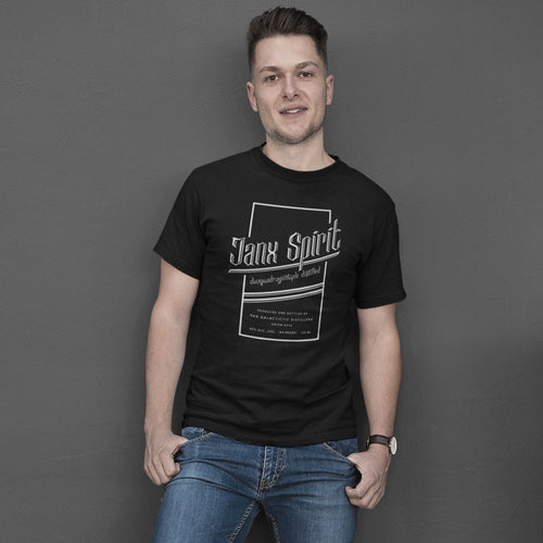 Janx Spirit - Men's Tee Shirt - Hitchhiker's Guide Inspired Graphic T-Shirt