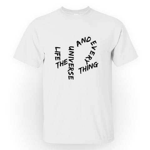 Life, the Universe, and Everything - Men's Tee Shirt