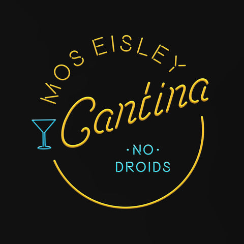Mos Eisley Cantina - Men's Tee Shirt - Star Wars Inspired Graphic T-Shirt