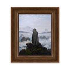 Skywalker Above the Sea of Fog - Art Print