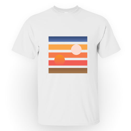 Tatooine Sunset - Men's Tee Shirt