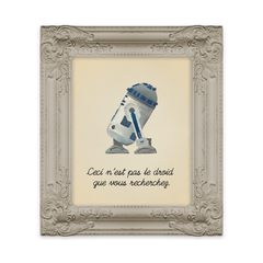 The Treachery of the Force - Art Print