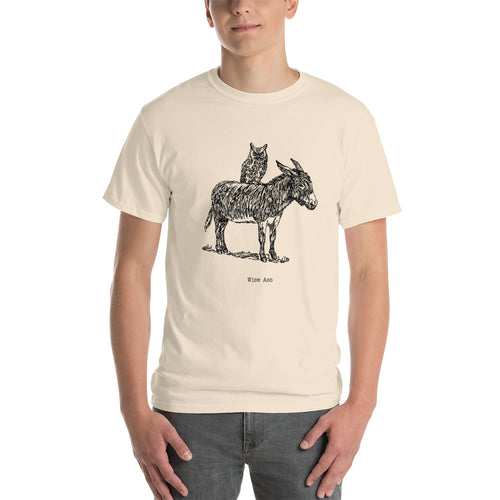 Wise Ass - Men's Tee Shirt - Weird Wildlife Funny Graphic T-shirt