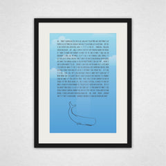 I Wonder if it'll be Friends with Me - Art Print - Hitchhiker's Guide to the Galaxy Inspired Wall Art and Canvas Print