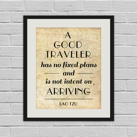 A Good Traveller - Art Print