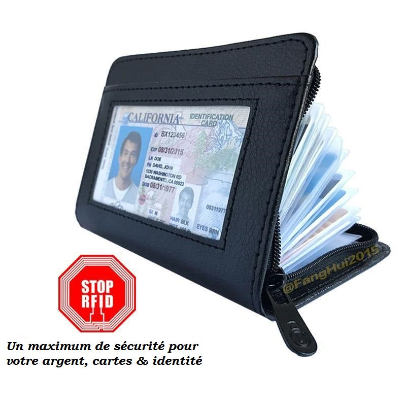Portefeuille Anti Rfid