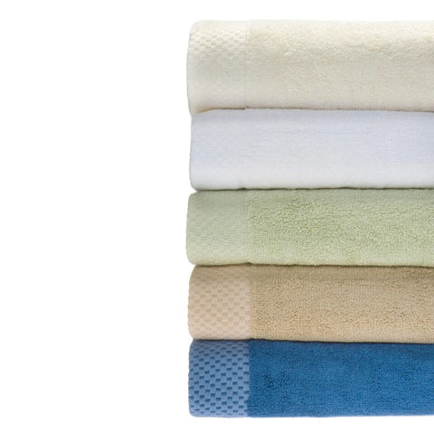 Rayon from Bamboo blend Resort Washcloths (4pk) in Ivory