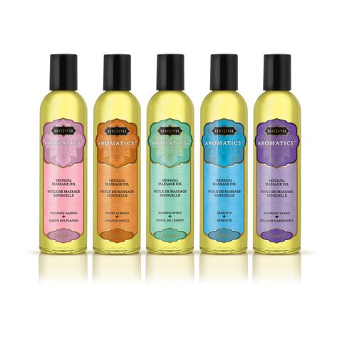 Aromatic Massage Oil Pre- Pack Display - 15 Pieces KS12101