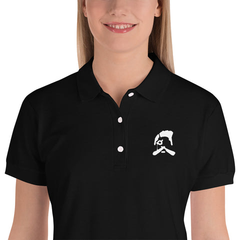 Embroidered Barber Wear Polo Shirt