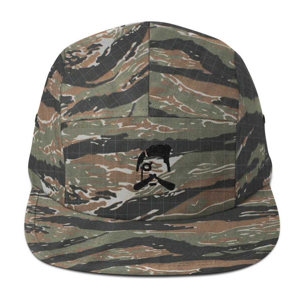 Five Panel Barber Wear Cap