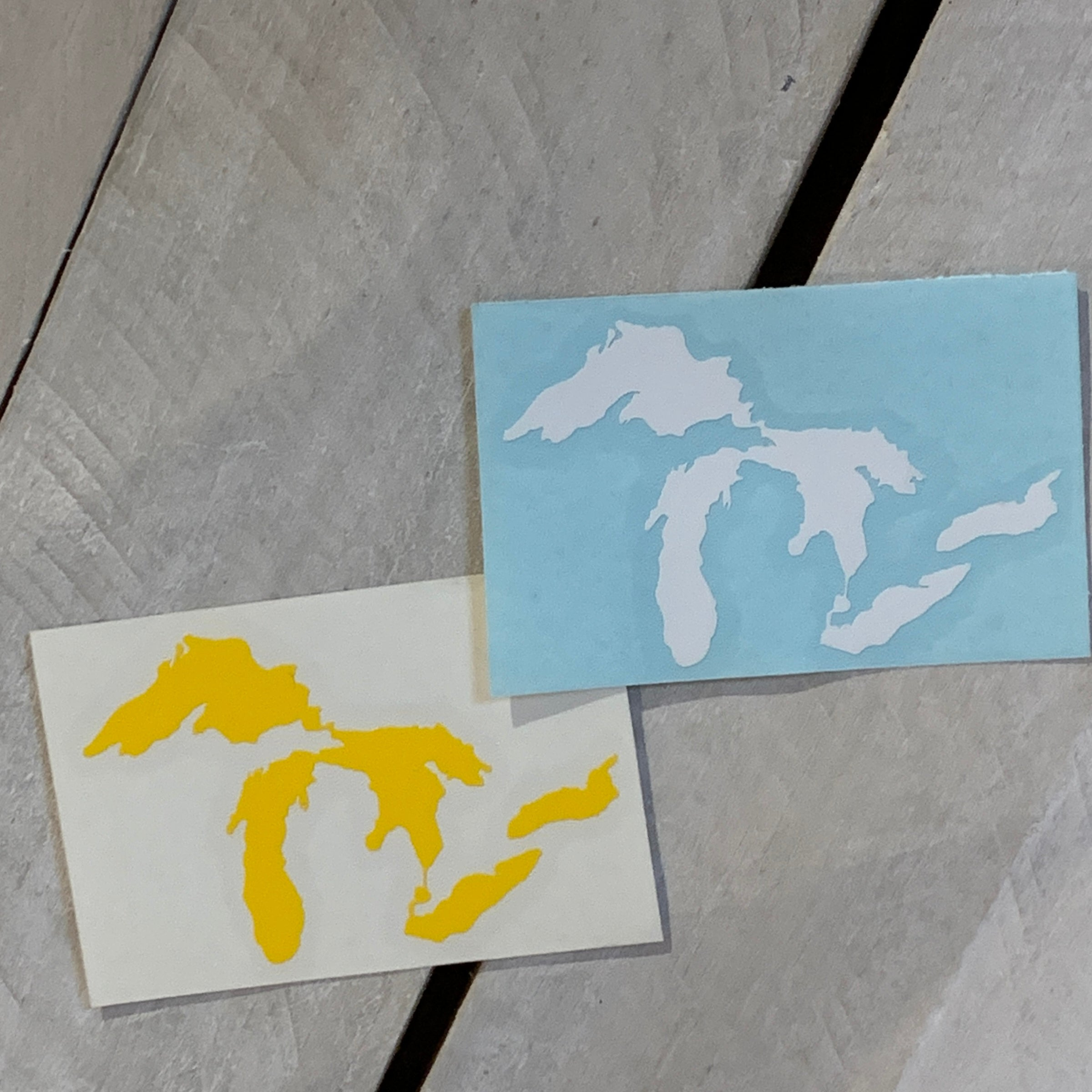 Great Lakes Mini Decal Sticker