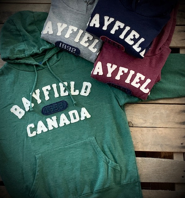 Bayfield Souvenir Imposter Applique Pullover Hoodie