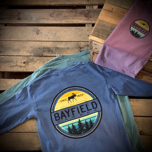Bayfield Souvenir Infantry Moose Premium Long Sleeve Tee