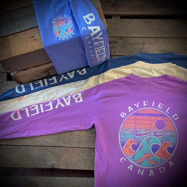 Bayfield Souvenir Tangela Wave Premium Long Sleeve Tee