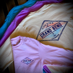 Grand Bend Souvenir Hark Back Premium Long Sleeve Tee
