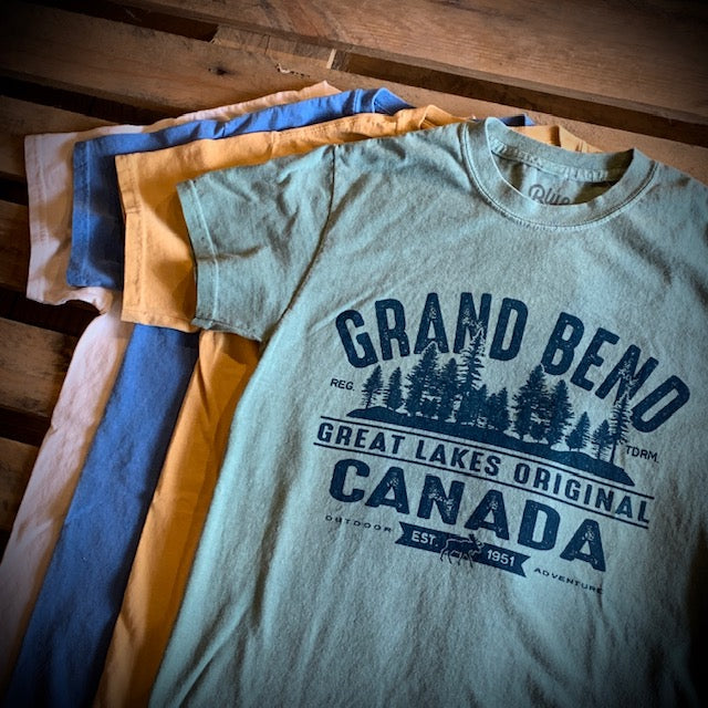 Grand Bend Souvenir Valuate Pines Premium Short Sleeve Tee