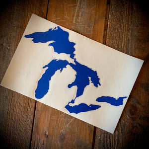 Great Lakes Large Decal Sticker