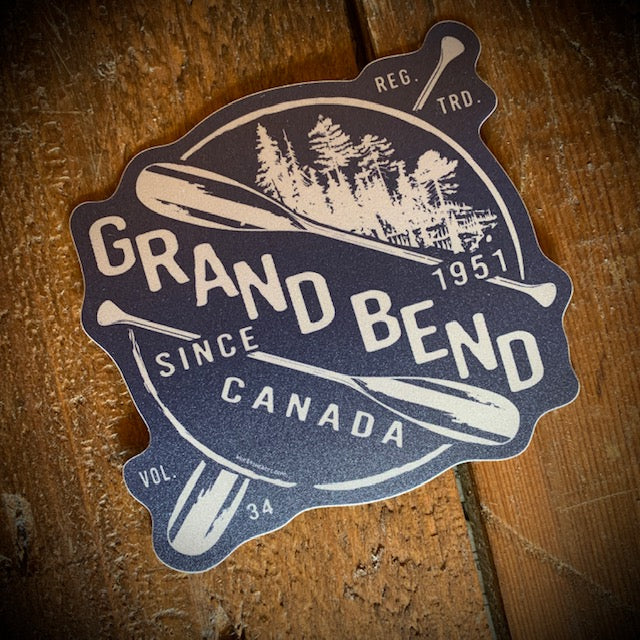 Grand Bend Souvenir Oars Vinyl Sticker