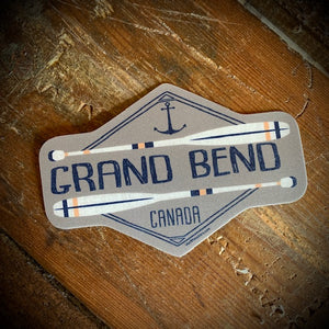 Grand Bend Souvenir Paddles Vinyl Sticker