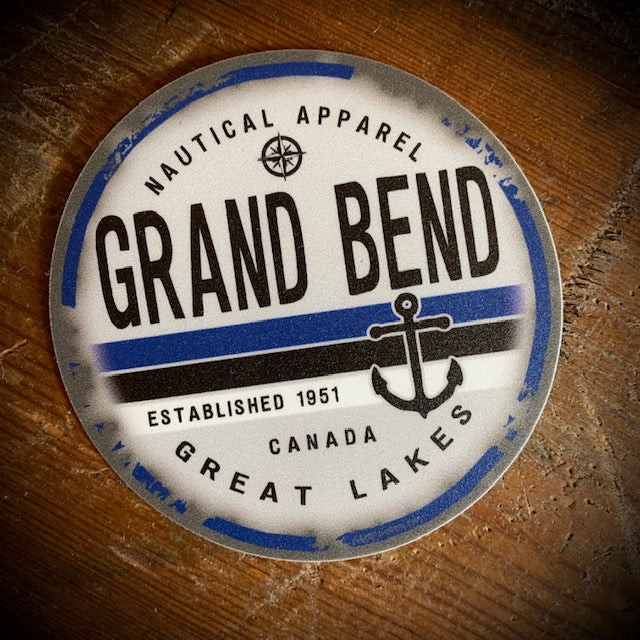 Grand Bend Souvenir Nautical Vinyl Sticker